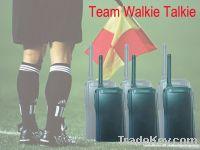 Handheld Full Duplex Group Walkie Talkie for Referee