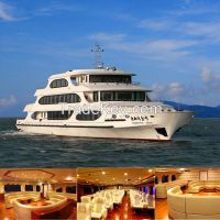 49.8m Steel /fiberglass luxury cruise ships for sale