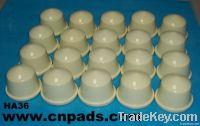 Pad printing rubber head