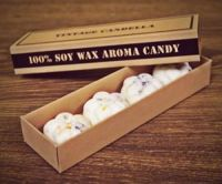 "Soy wax fragrance,essential oil, aromatic scented soy wax ""candies"", organic eco, retro vintage style,design by Vintage Candella"