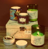Organic soy candles wholesale by VINTAGE CANDELLA