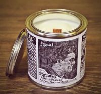 Container candle in tin, soy candle by VINTAGE CANDELLA