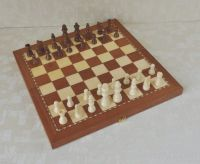 High Quality Inlaid Wooden Chess Set