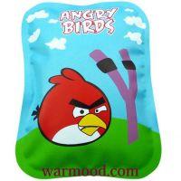 PVC angry bird electric hot water bag , hand warmer