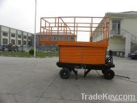 Mobile Hydraulic Scissor Lift Platform