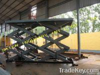 Stationary Scissor Lift Platform