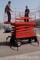 Platform Stretchable Mobile Scissor Work Lift