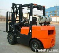 2T LPG & Gasoline Powered Forklift Truck
