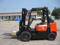 2.5T LPG & Gasoline Powered Forklift Truck