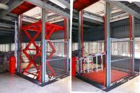 Stationary Scissor Cargo Lift Platform