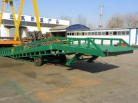 Manual Operational Hydraulic Mobile Loading Leveler 15T