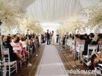 Luxury romantic wedding tent