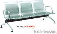 3 Seater Stainless Steel Airport waiting chair YX-9301C