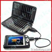Elegant solar folding charger for emergency