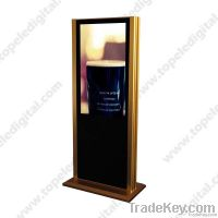 37'' 2, 000nits high-brightness outdoor stand alone lcd digital signage