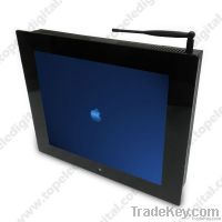 17 inch lcd digital advertisement product for mall/elevator/