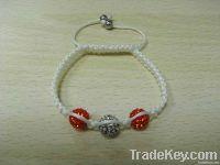 Shamballa Crystal Pave Ball & Beads Rhinestone Bracelets Jewellry