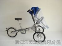 Environmental protection mother and baby bicycle