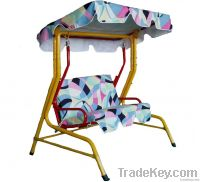 outdoor children swing chair with canopy