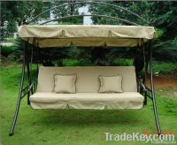 3 seat luxury outdoor swing chair