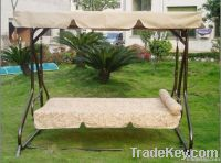 3 seat luxury garden swing chair