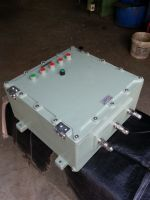 FLAMEPROOF/EXPLOSION PROOF CONTROL PANEL/JUNCTION BOX.