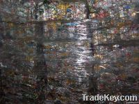 Aluminum/tin cans scraped