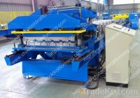 High speed roof tile making machine