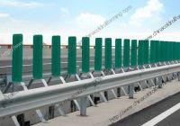 Highway crash barrier roll forming machine