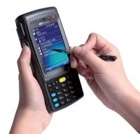 Fro sale handheld 1D scanner PDA with GSM GPS CAMERA