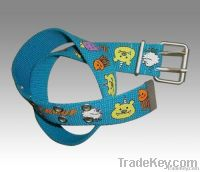 Children Canvas Belt