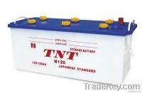 JIS Standard Dry Charaged Truck/ Car Batteries