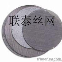 stainless steel filter mesh|filter disc