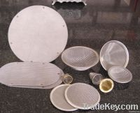 multilayer extrude screen pack stainless steel filter screen