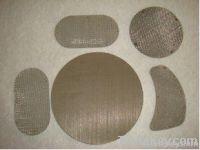 polymer pack filter|plain steel mesh filter