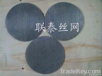 polymer pack filter plain steel mesh filter