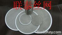 circular extruder screen pack
