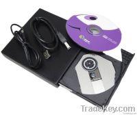 HOT selling NEW style USB 2.0 usb external Mini dvd rw