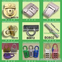 Metal Lock for Bag, Handbag and Luggage