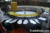 PVC glove dotting and printing machine