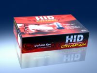 Hid Kit with Colorful Box Package