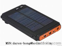 solar laptop charger / power bank / solar charger