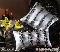 Satin and Lace Home Decorative Cushion Pillow