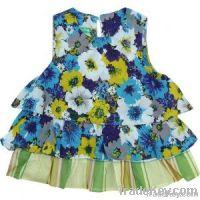 Baby girl dress, children cotton skirt, baby apparel wholesale