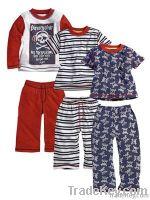 Baby cotton pajamas, children apparel wholesale