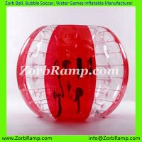 Bubble Soccer  Zorb