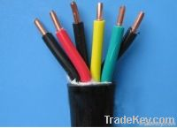 Hot sale!! China copper core pvc coated electric control cable