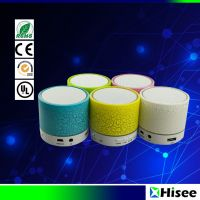 Smart portable mini LED wireless  bluetooth speaker