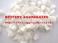 white glass aggregate