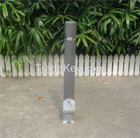 Metal parking bollard steel traffic bollard
